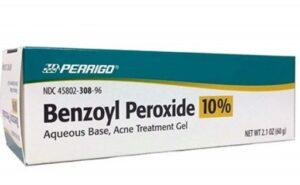 Thuốc trị mụn trứng cá Benzoyl Peroxide
