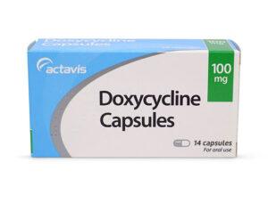 thuốc trị mụn trứng cá Doxycycline