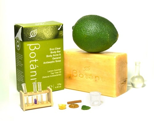 Xà phòng Eco-Clean Body Bar Body Acne $ General Antiseptic Soap Botani