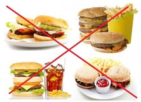 chế độ ăn uống dẫn đến bị mụn bọc