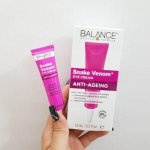 Kem trị thâm quầng mắt Balance Snake Venom Eye Cream