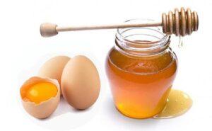 mật ong và trứng