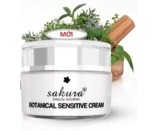 Kem dưỡng trắng da mặt Sakura Botanical Sensitive Cream