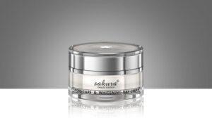 Kem dưỡng mặt trắng da Sakura spots care & Whitening day cream