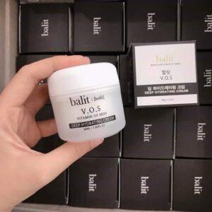 Kem dưỡng trắng da mặt cho da dầu Balit VOS Tone Up Cream