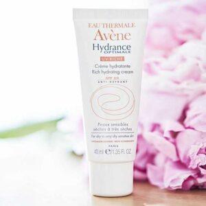 Kem dưỡng trắng da chống nắng Avène Hydrance Optimale Rich Hydrating Cream SPF20