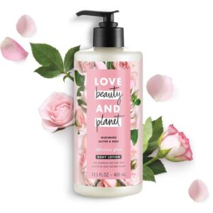 Sữa dưỡng thể Love Beauty And Planet Delicious Glow